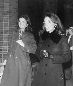Jackie Onassis and Lee Radziwill