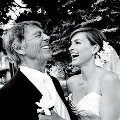 Mariska and her father