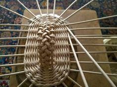 Плетение крышки