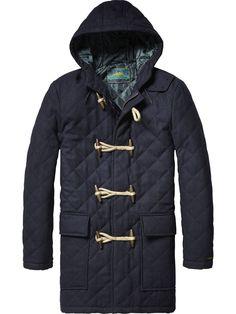 Wool Duffle Coat | Jackets | Men's Clothing at Scotch & Soda