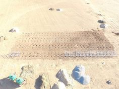 Arial view of the solar farm  #solarfarm #greenbuiltenergysolutions #solarpower