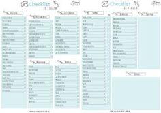 All Things Blue: Dois meses de ATB - Checklist de Viagem (freebie)