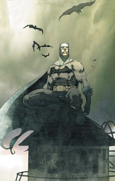 Dark Knight: Batman by Josh Middleton. I Am Batman, Batman Dark, Batman The Dark Knight, Superman, Batman Rises, Batman Metal, Batman Cartoon, Batman Stuff, Comic Books Art