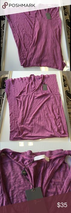 7 for All mankind Purple baggy summer dress medium 7 for All mankind Purple baggy summer maxi  dress size  medium new with tags ,,this dress has a baggy slouchy fit 7 for all Mankind Dresses Maxi