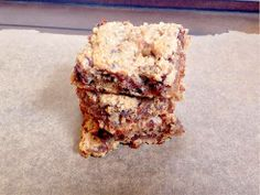 Banana Blondies ~ Planks, Love and Guacamole. These are SO good!
