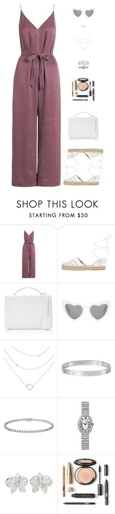 """""""Sin título #4817"""" by mdmsb on Polyvore featuring moda, Zimmermann, Maiden Lane, Mark Cross, Yves Saint Laurent y Cartier"""