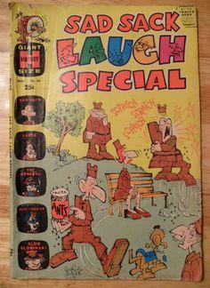 SAD SACK LAUGH SPECIAL Comic Book (Nov 1970) Harvey Comics (Vol. 1, No. 56)!!!