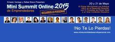 Solo para emprendedores. ¡Te Invitamos a Participar en el Evento de Desarrollo Personal Más Esperado de Internet!