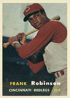 Frank Robinson rc   | key s key 1957 topps  s frank  rc 35