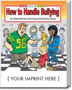 How to Handle Bullying Coloring & Activity Book - 0235 | Coloring Books Depot