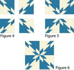Hunter's Star Quilt Pattern Assembly
