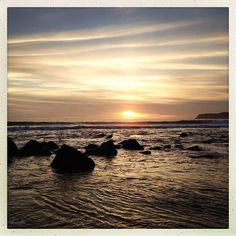 """""""Such a wonderful beach, quiet, good waves and nice white sand. It's famous Hotel de Coronado is amazing and the tide pools and rocks are neat for kids. Good food & even better ice cream at the Creamy"""" -Tanya Daily Warner"""