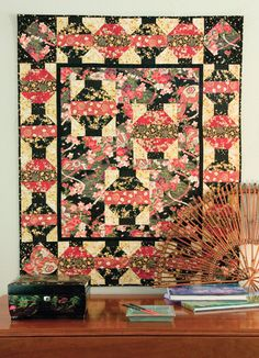 Simple Instructions to Sew Easy Chinese Lanterns Quilt Blocks ... : chinese lantern quilt pattern - Adamdwight.com