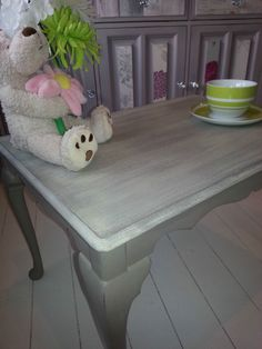 SHABBY CHIC FRENCH FARMHOUSE STYLE COFFEE TABLE - Annie Sloan. Another beautiful piece from Chic Boutique Furniture in Leicester.