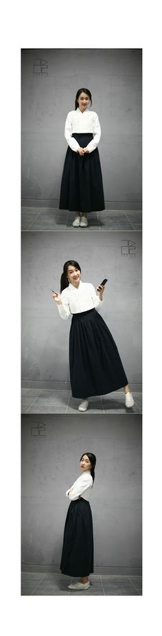 wearing hanbok in everyday life. modern ways to wear hanbok Korean Traditional, Traditional Fashion, Traditional Dresses, Japanese Outfits, Korean Outfits, Japanese Fashion, Korea Fashion, Mori Girl, Daily Wear