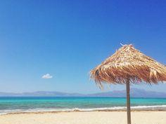 "** No, it""not Hawaii! It's Chrissi Island - Ierapetra, Crete, Greece Mykonos, Santorini, Crete Greece, Archaeological Site, Travel Maps, Greek Islands, Trip Advisor, Beautiful Places, Places To Visit"