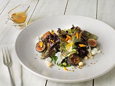 Summer Salad with Figs and Chevre