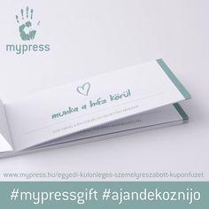 Élmény kuponfüzet anyák napjára! 😊 #mypressgift #egyedi #kulonleges #ajandek #ajandekoznijo #meglepetes #kupon #anyaknapja #gift #love…