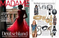 Diamantohrstecker von RenéSim passend zum Asia-Look