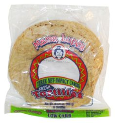 Mama Lupe's Low Carb Tortillas are delicious. Unlike other low carb tortillas, Mama Lupe's taste just like regular restaurant tortillas.