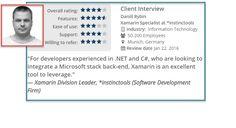 Developer profile