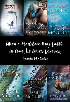 Maddox Boys alert ! :D Beautiful Disaster series by Jamie McGuire