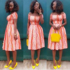 Best Stylish Ankara Styles for Church 2019 fashion dresses, church dress styles, nice church dresses, african church dresses, dress for. African Dresses For Women, African Print Dresses, African Attire, African Wear, African Women, African Prints, Ankara Short Gown, Short Gowns, Ankara Dress