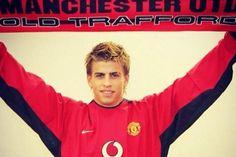 """El Manchester United desea """"mucha suerte"""" a Gerard Piqué ante el City #Champions #GerardPique"""