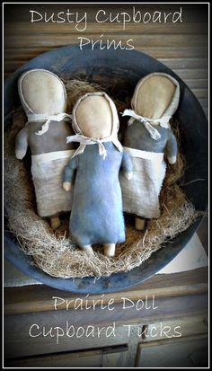 Prairie Doll Cupboard Tuck E-pattern von DustyCupboardPrims auf Etsy