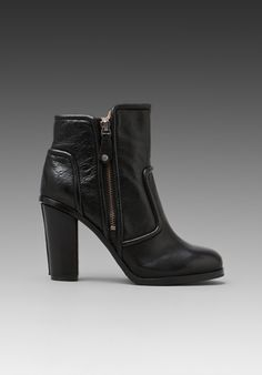 FRYE Sylvia Piping Bootie in Black at Revolve Clothing - Free Shipping!