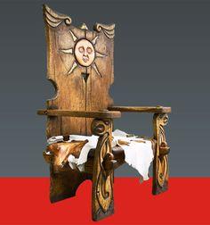 Авторская мебель — Царский трон — Кресло «Ярило»