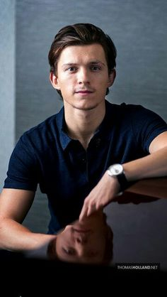 Tom Holland! I ABSOLUTLEY LOVE THIS PHOTO OF HIM!!!! FACIAL HAIR AND ALL