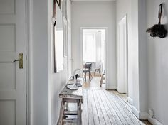 Relaxed Scandinavian Home in Velvet & Linen | house tour via coco kelley