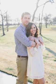 How cute are these two! Their June wedding is coming soon and we couldn't be more excited! Engagement session at The Grove www.thegroveaubreytexas.com Photos by Beth McElhannon beth@bethmcphoto.com #Engaged #EngagementPhotos #OutdoorCeremony #TexasWedding #NorthTexasVenue #Rustic #ShabbyChic #Bohemian #SummerWedding