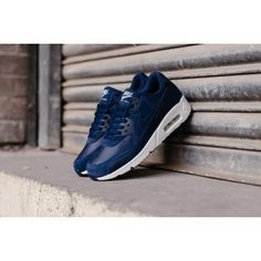 ad07ed59d3 Soldes Chaussure Nike Air Max 90 Ultra 2.0 Cuir Midnight Marine Sommet  Blanc Store