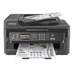 Epson WorkForce Wireless All-in-One Printer Refurb - Print, Copy, Scan, Best Inkjet Printer, Laser Printer, Tinta Epson, Office Works, Wireless Printer, Multifunction Printer, Printer Driver, Windows Operating Systems, Computer Repair