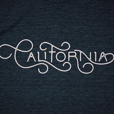 California Love. // If you haven't see one of my previous posts or from @type.gang, well we've teamed up together to offer this exclusive shirt. There is only 9 days left and then it's gone forever. It's great for birthdays, anniversaries, bar mitzvahs, quinceaneras and jury duty. Link is in their bio. And give them a follow for incredible work by other artists. #typegang #California #tshirt #handlettering #customtype #CaliforniaLove