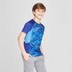 0bc6bd338e58 The Boys  Novelty Printed Tech T-Shirt from C9 Champion is comfortable  enough for