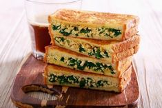 Depositphotos Vegetarian Recipes, Healthy Recipes, Healthy Food, Feta, Plant Based, Sandwiches, Food Food, Healthy Foods, Healthy Eating Recipes