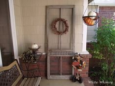 old screen door decoration