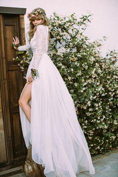 high fashion bridal