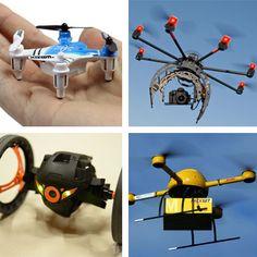 Le drones sere objets de consumicion masive come le mobile