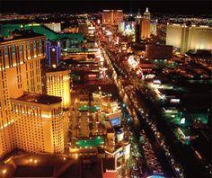 The Strip.  Las Vegas, NV.  Always have fun here!!