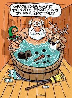 Santa's Hot Tub