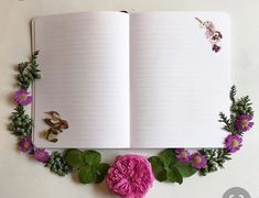 Flora Forager: A Seasonal Journal Collected From Nature, opened to a page in the… Old Paper Background, Kids Background, Flower Background Wallpaper, Flower Phone Wallpaper, Love Wallpaper, Flower Backgrounds, Background Patterns, Boarders And Frames, Aesthetic Photography Nature