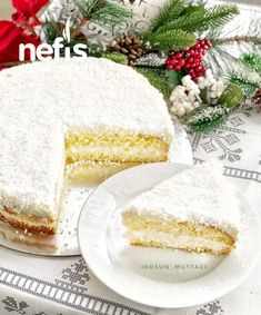 Cotton-like winter cake - delicious recipes - Mutfağm - Rezepte Healthy Eating Tips, Healthy Drinks, Snack Recipes, Healthy Recipes, Snacks, Delicious Recipes, Whats For Lunch, Tasty, Yummy Food