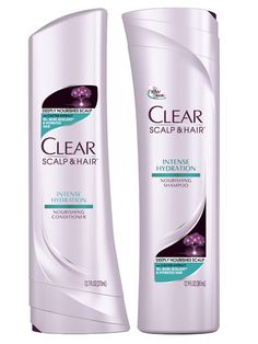 Clear Scalp & Hair Beauty Therapy Intense Hydration Shampoo and Conditioner