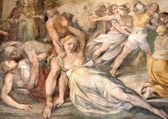 Men Defining Rape: A History,  Rape of the Sabine Women, by Giuseppe Cesari.  Dirk Huijssoon/Fotopedia