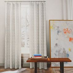 Tommy Hilfiger Diamond Lake Pair of Curtains 2 window panels, 50 by 96-inch Gray Ivory White Grey Aztec Geometric, http://www.amazon.com/dp/B01CDB06FW/ref=cm_sw_r_pi_awdm_RBA2wb1F51KZJ