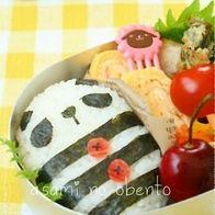 しましまパンダのお弁当